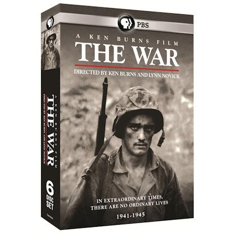 The War: A Ken Burns Film, Directed by Ken Burns and Lynn Novick 6PK DVD & Blu-ray