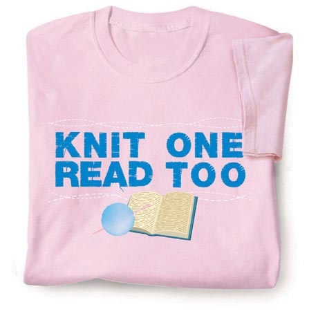 Knit One Read Too Shirts