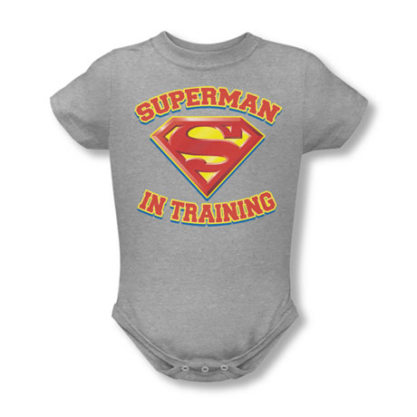 Superman In Training Snapsuit