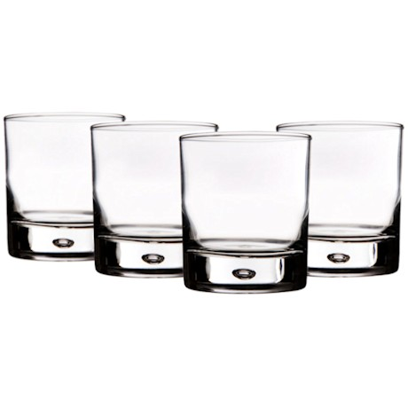Home Essentials Red Series Bubble Tumblers Set of 4