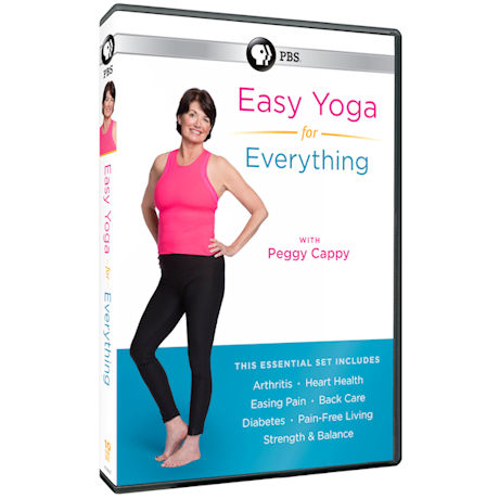 Easy Yoga for Everything with Peggy Cappy DVD