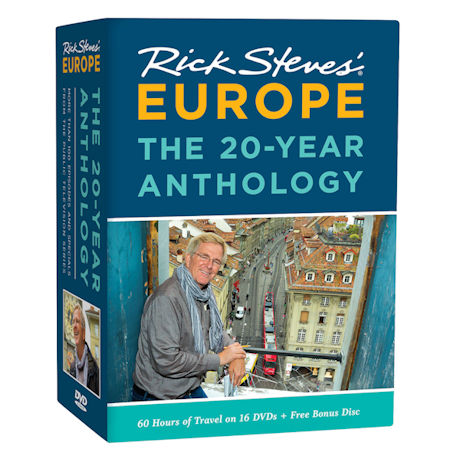 Rick Steves' Europe: The 20-Year Anthology DVD Box Set