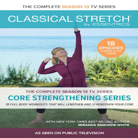 Classical Stretch Season 13 : Core Strengthing Series DVD