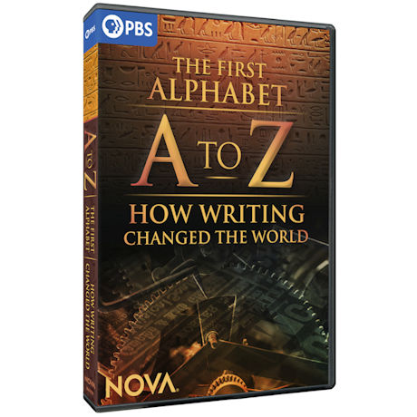 NOVA: A to Z - The First Alphabet and How Writing Changed the World DVD