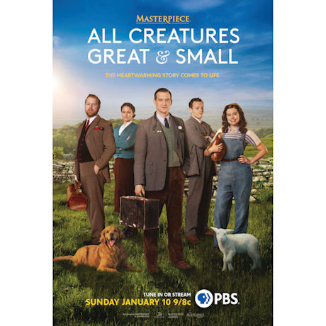 All Creatures Great & Small DVD