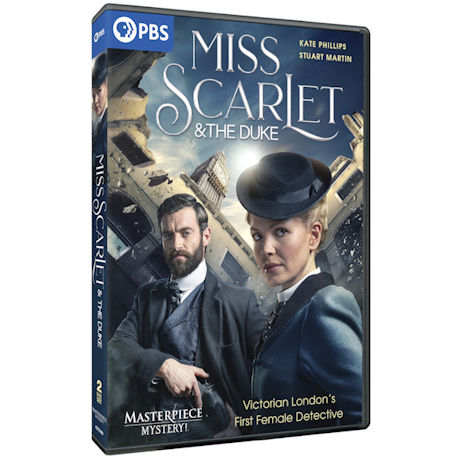 Miss Scarlet & the Duke DVD