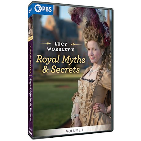 Lucy Worsley's Royal Myths and Secrets DVD