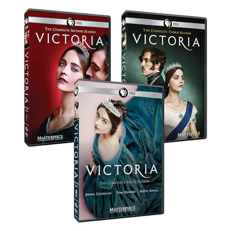 Masterpiece: Victoria Seasons 1, 2 and 3 DVD or Blu-ray Set