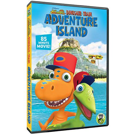 Dinosaur Train: Adventure Island DVD