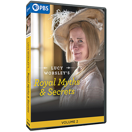 Lucy Worsley's Royal Myths and Secrets Volume 2 DVD