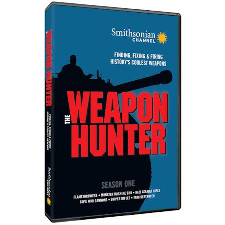 Smithsonian: The Weapon Hunter Season 1 DVD
