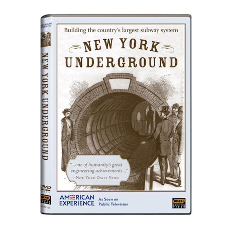 American Experience: New York Underground DVD