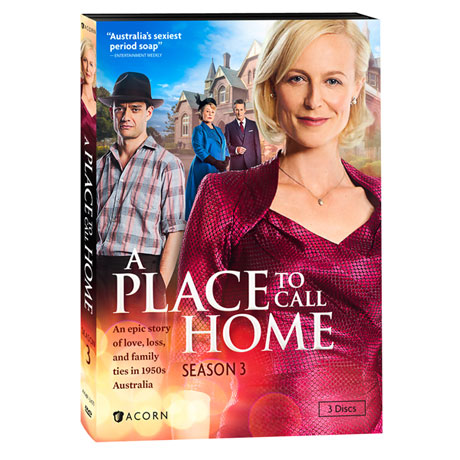 A Place to Call Home: Season 3 DVD