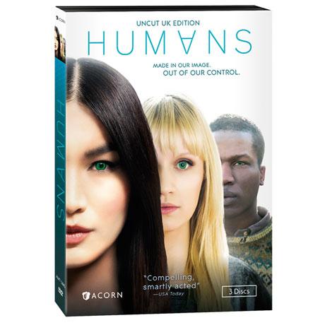 Humans: Series 1 DVD & Blu-ray