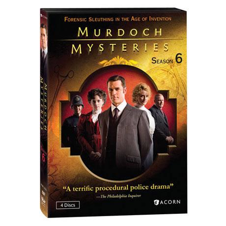 Murdoch Mysteries: Season 6 DVD & Blu-ray