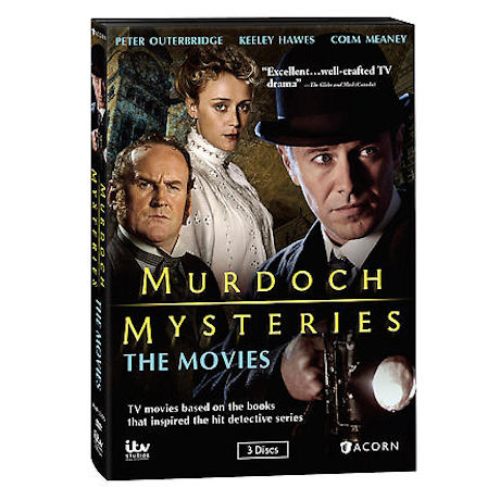 Murdoch Mysteries: The Movies DVD
