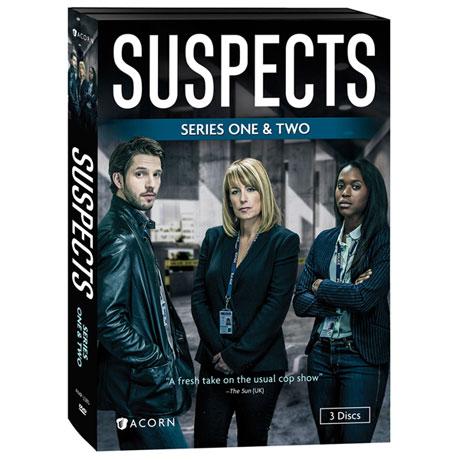 Suspects: Series 1 & 2 DVD