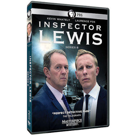 Inspector Lewis Series 8 DVD & Blu-ray