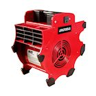 Great Working Tools Blower Fan, 3-Speed 300 CFM Pivoting Portable Mechanic's Shop Fan Air Mover with 2 Grounded Outlets