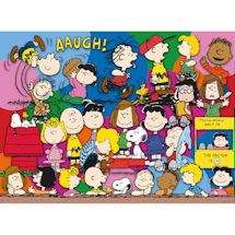 Peanuts Pop Culture 500 Piece Puzzles