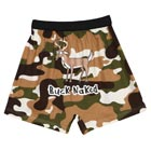 Buck Naked Camouflage Funny Boxers with Deer in Cotton with Elastic Waist