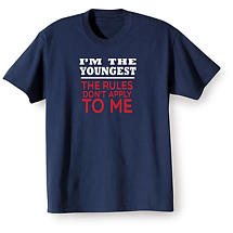 I'm The Youngest Navy T-Shirt