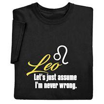 Horoscope Shirts - Leo