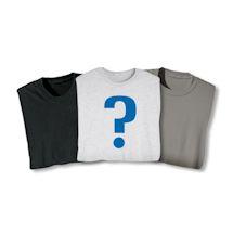 2 Blank Mystery Shirts