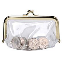 See Through Coin Purse