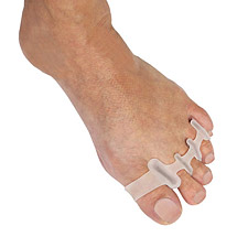 Gel Toe Separators (pair) for Bunion and Overlapping Toe Relief