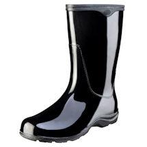 "Classic Black Slogger 10"" Waterproof Rain Boot"