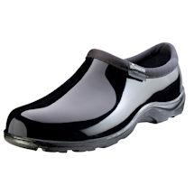 Classic Black Waterproof Slogger Shoe