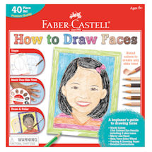 Faber Castell World Colors How to Draw Faces Set