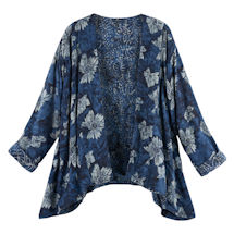 Indigo Batik Reversible Jacket