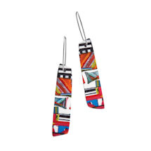 Layered Colors Earrings