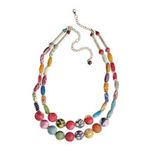 Kantha Bead Necklace