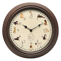 Dog Sounds Wall Clock