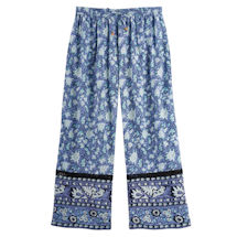 White Carnations Lounge Pants
