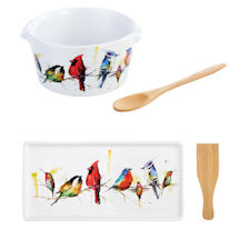 Little Birds Appetizer Tray and Bowl Sets