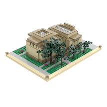 Atom Brick™ Frank Lloyd Wright® Building Set - Unity Temple