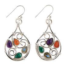 Baroque Swirls Earrings