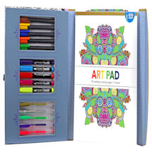 Inspirational Words & Mindful Cards Coloring Kits