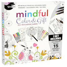 Mindful Gift Cards Coloring Kit