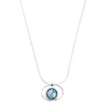 Roman Glass in Orbit Necklace