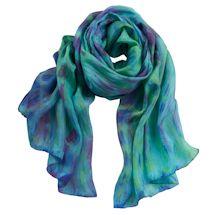 Watercolor Silk Scarf