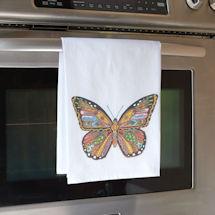 Sue Coccia Monarch Butterfly Tea Towel