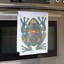 Sue Coccia Frog Tea Towel
