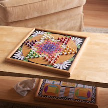 Decorative Chinese Checkers Game Board