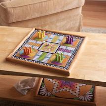 Decorative Parcheesi Game Board