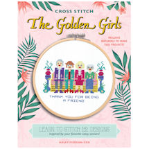 The Golden Girls Cross Stitch Kit